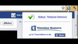 Comment enlever le Journal TimeLine Facebook   Tuto janvier 2013