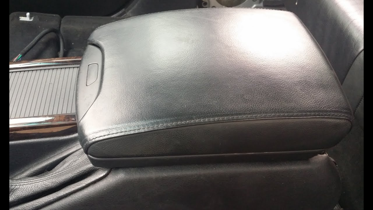 Bmw X5 Center Console Arm Rest Removal Youtube