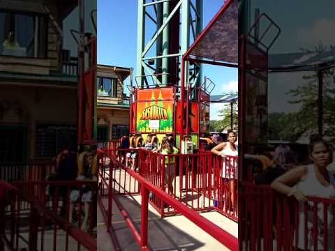 Sasquatch At Six Flags Great Escape Lake George Ny Youtube