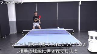 フォアカット・シェークハンズ 平屋広大コーチ【卓球】 thumbnail
