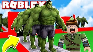 HULK FACTORY IN ROBLOX!! (Super Hero Tycoon)
