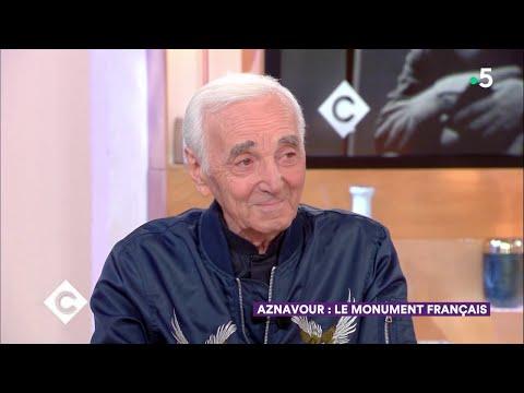 Aznavour : le monument français ! - C à Vous - 28/09/2018
