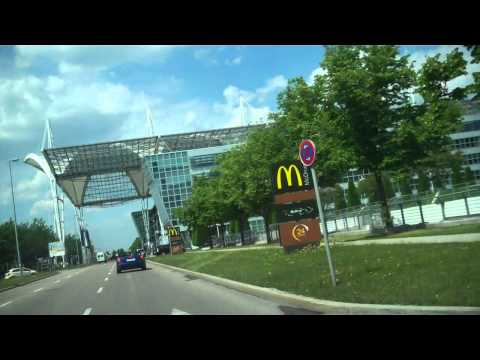 Rental Car Return @ Munich Airport