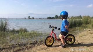 Balade à vélo au Lac de Villeneuve de la Raho