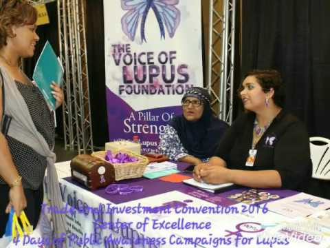 Lupus Awareness at the 2016 Trade and Investment Convention