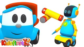 Animation for kids. Leo the truck and Lifty