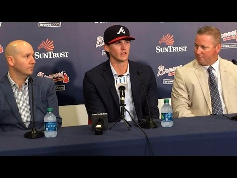 Kyle Wright on signing with Braves