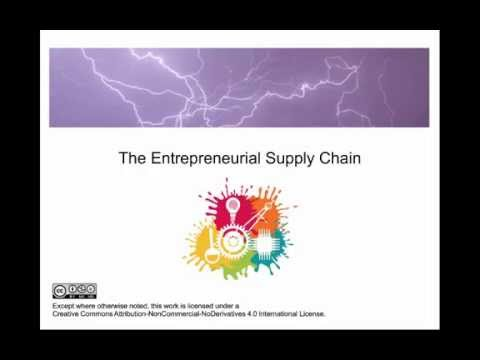 Entrepreneurial Supply Chain