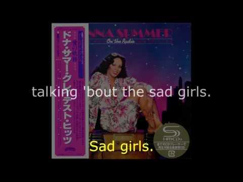 "Donna Summer - Bad Girls (GH Edit) LYRICS SHM ""On the Radio: Greatest Hits I & II"""