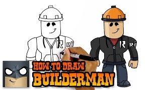 How to Draw Builderman | Roblox (Drawing Videos Step by Step)