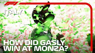 How Did Pierre Gasly Win At Monza? | 2020 Italian Grand Prix