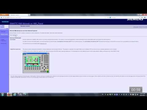 Maintenance: AT 1 - Remote HMI Access