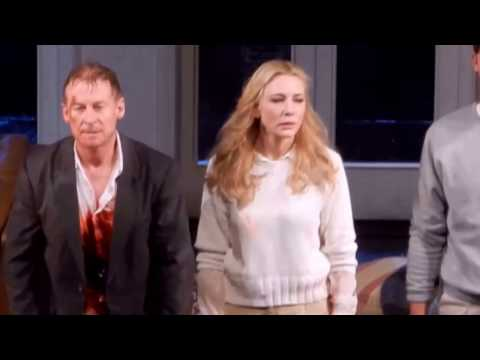 Curtain Cal in The Present with Cate Blanchett and Richard Roxburgh 12/23/16