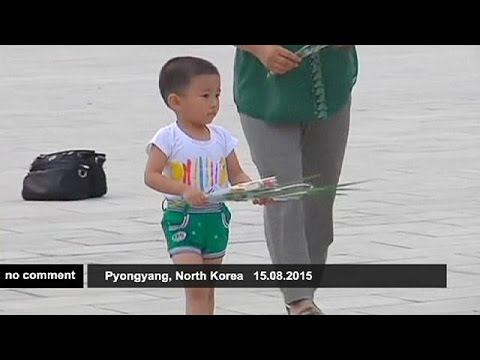 Marking the end of WWII in North Korea - no comment