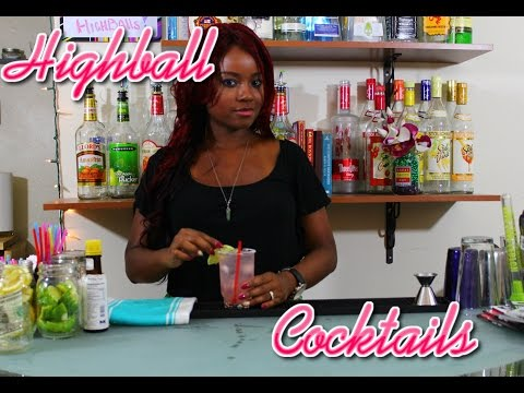 Bartending Recipes: How To Make A Highball Cocktail