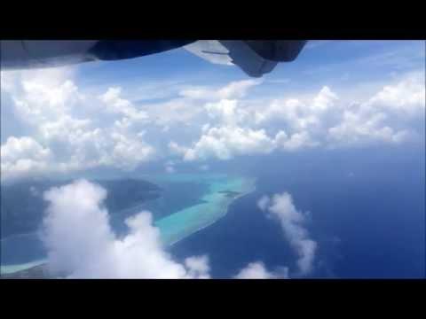 Air Tahiti ATR 72-500 - Bora Bora to Papeete, Tahiti