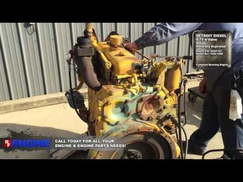 7516818GN | Detroit Diesel® 4-71 4-Valve Complete Running Engine