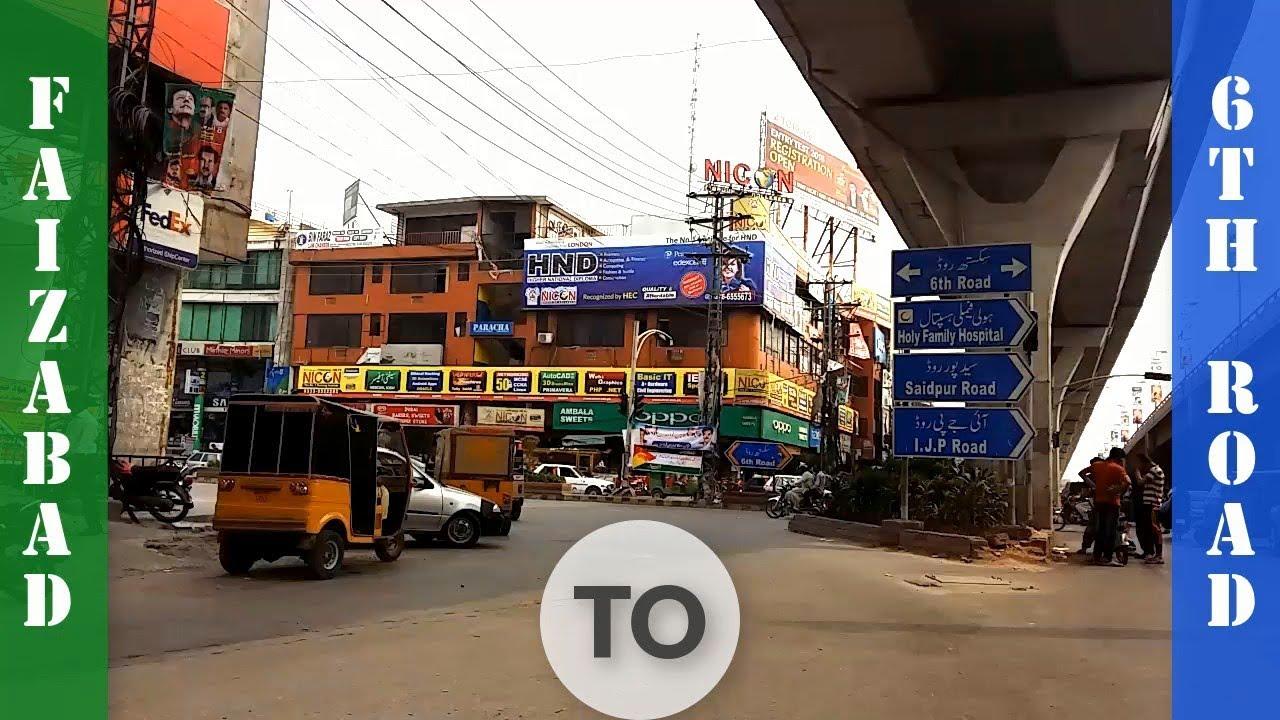 Faizabad Interchange To 6th Road Rawalpindi Pakistan | Road