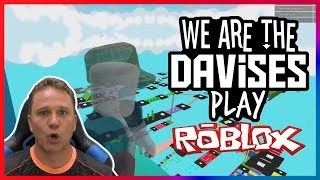 Never Ending Parkour | Roblox Obby EP-32 | We Are The Davises Gaming