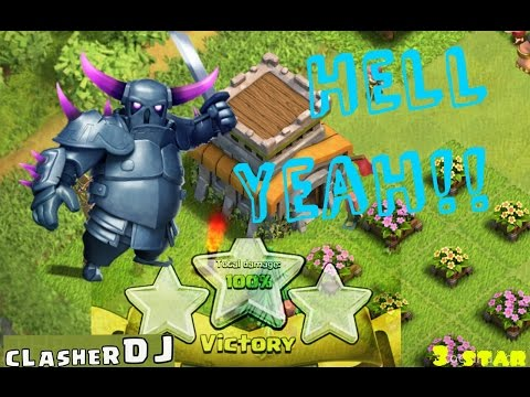 Clash of Clans | TH8 How to use Pekka - Mass P.E.K.K.A Attack (PeGiWiz)| 3 Star | How to use Pekka's