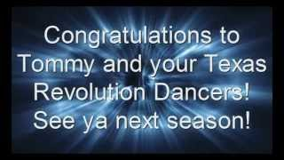 Tommy Benizio and Texas Revolution Dance Team earn Big Honors!