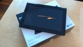 Sony S1 Tablet Unboxing & First Impressions