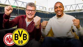 Abdou Diallo joins BVB Matchday Magazine | Eintracht Frankfurt - Borussia Dortmund