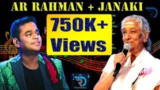 AR Rahman + Janaki   Jukebox   Melody Songs   Tamil Hits   Tamil Songs   Non Stop