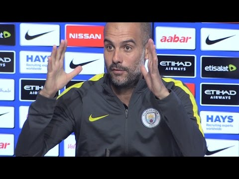 Pep Guardiola Full Pre-Match Press Conference - Stoke v Manchester City