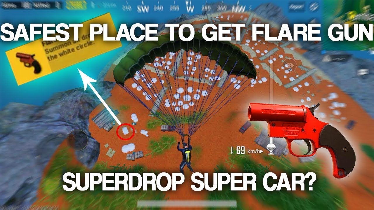The Safest Place In Sanhok To Find Flare Gun Best Place In Sanhok