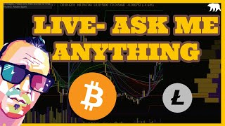 BitcoiN Litecoin & Altcoin Ask Me Anything- WILL LIVE WORK?- ( ARCANE BEAR)