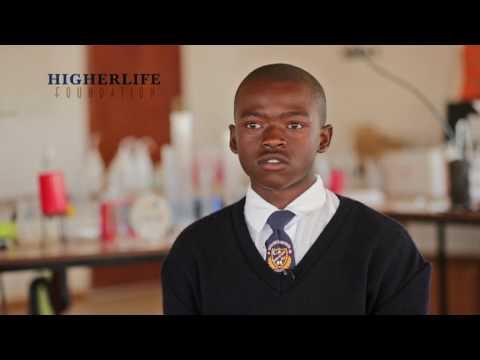 Higherlife Foundation scholars in Lesotho