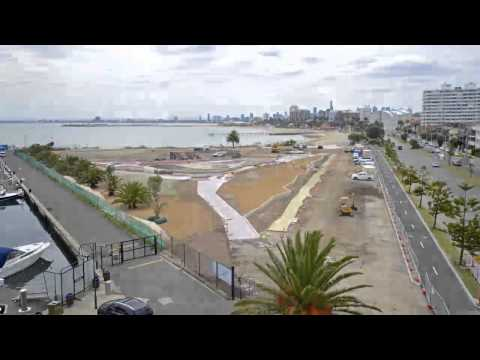 Marina Reserve  masterplan  construction - watch the design unfold!