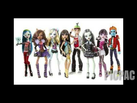 Куклы Монстр Хай картинки #picpac #monsterhigh