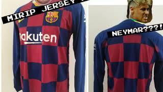Jual Jersey-Baju Bola Barca Cules Grade Ori GO Home Musim-Tahun Terkini-Terbaru-baru Full Stel-Set-Celana-Kaos Kaki