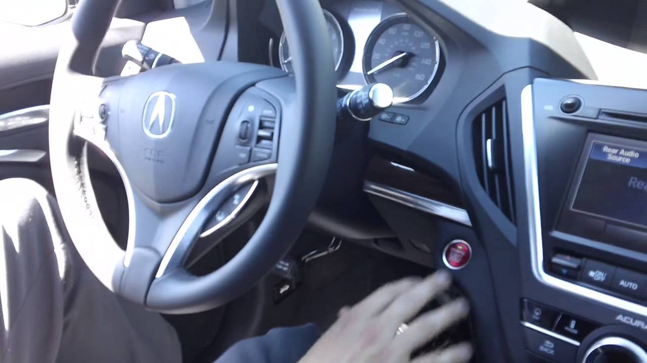 2014 Mdx Push Button Start