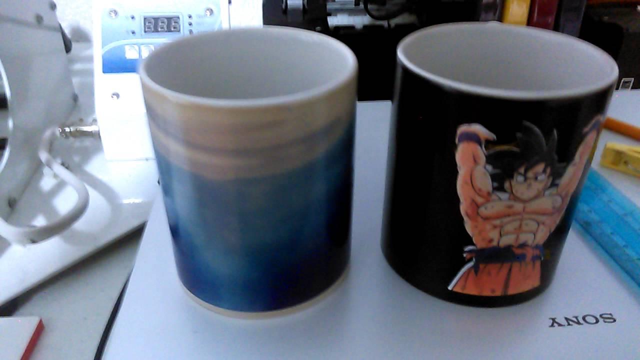 Truco revelado para hacer las famosas tazas 3d youtube - Taza termica para cafe ...