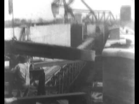 New Orleans - Building The Industrial Canal (1923).wmv
