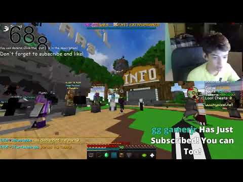 Hypixel Live! *FACECAM*