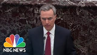 White House Counsel Pat Cipollone Calls Impeachment Resolution A 'Fair Process' | NBC News