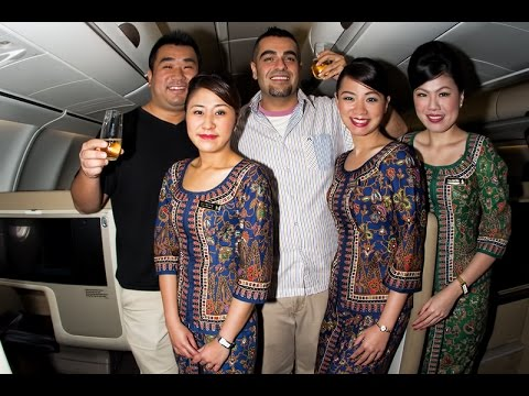 The World's Longest Commercial Flight from Singapore to Newark, SQ22 in 6 minutes!