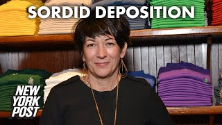 Ghislaine Maxwell's deposition about sordid sex life unsealed | New York Post