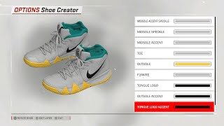 detailed look a2511 af5e3 The Academy Kyrie 4 for NBA 2K18 ...