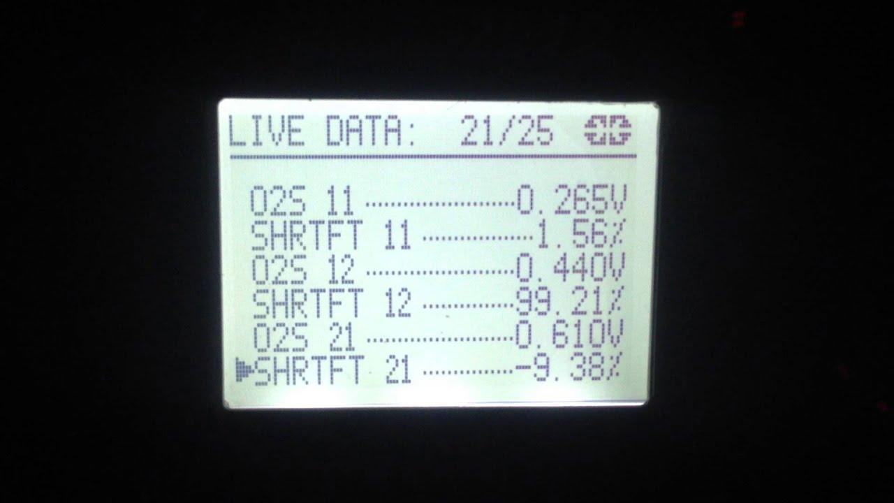 P1273 Code Nissan Xterra Air Fuel Sensor Lean Shift Live