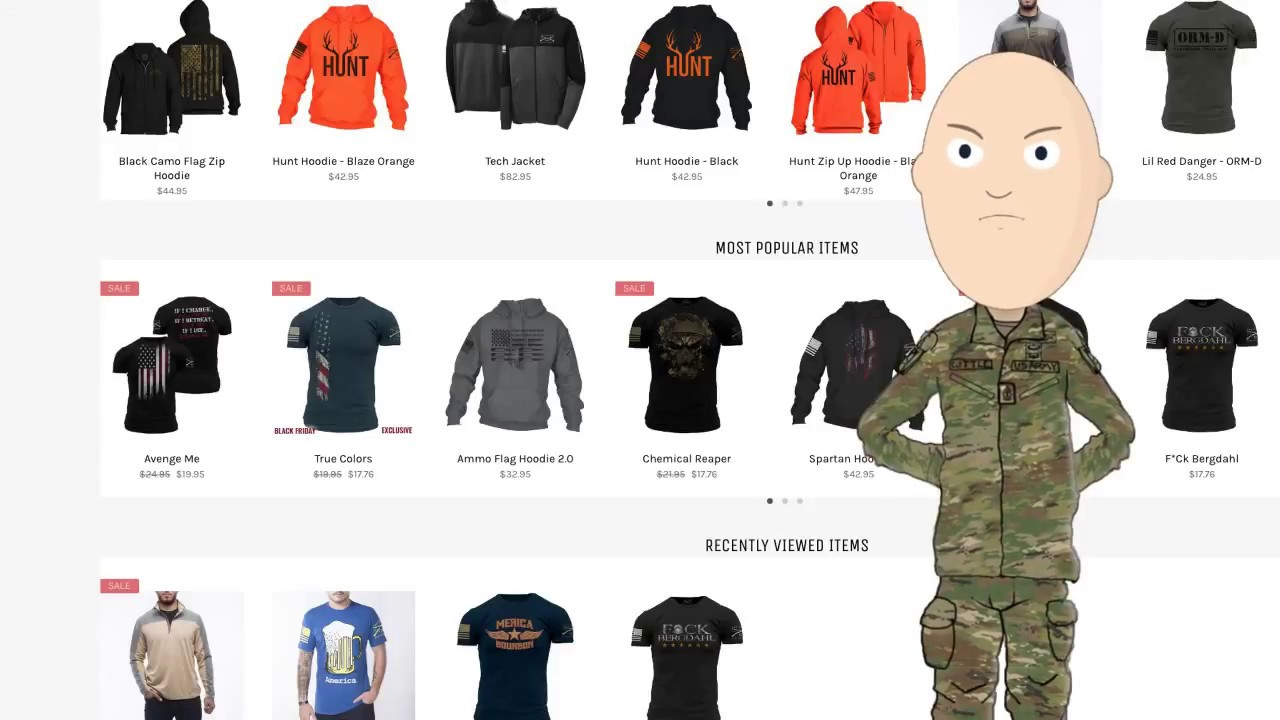 87eb90edfe869 Grunt Style discount code and Amazon Page for Little Top! - YouTube