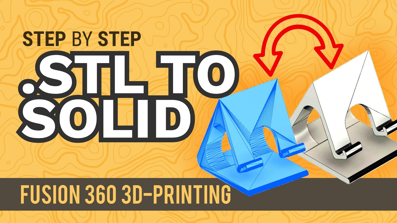 How to convert an STL (mesh) to a Solid in Fusion 360