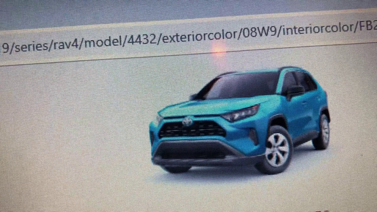 You Can Now Build Your Own 2019 Toyota Rav4