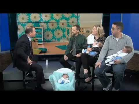 Couple Welcomes Rare Identical Triplets