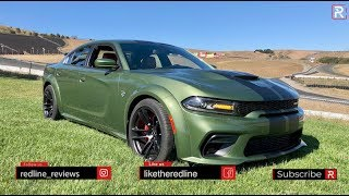 The 2020 Dodge Charger Hellcat Widebody is an Insane 707 HP 4-Door Muscle Car