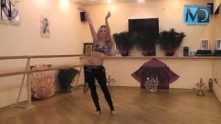 Восточные танцы. Видео урок №3 от MostDance.com (Д.Данилкина)